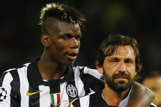Pirlo eyeing Pogba as first marquee Juve signing
