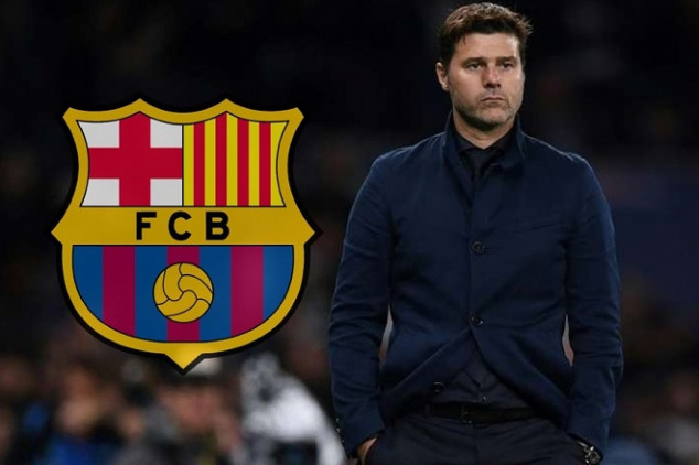 Pochettino's arrival is frowned upon by Barca fans