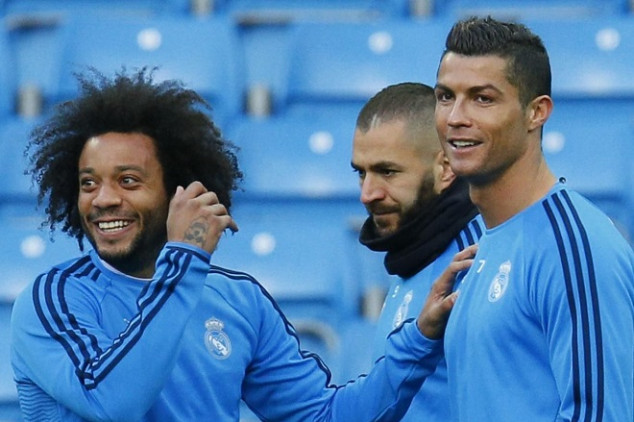 CR7 urging Pirlo to sign Real Madrid ace