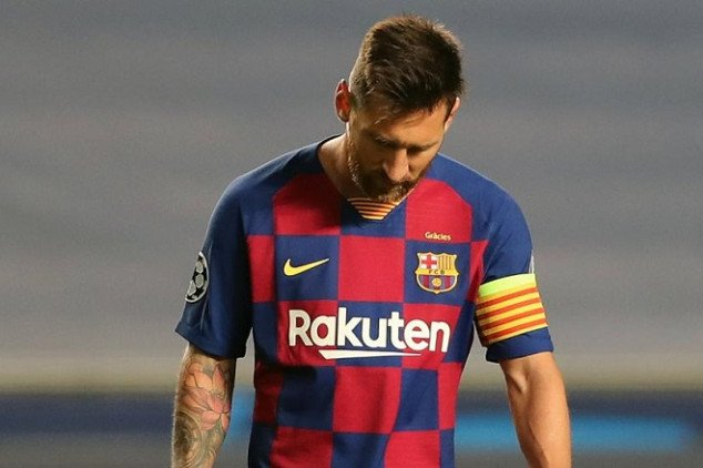 Report: Messi seriously considering Barcelona exit
