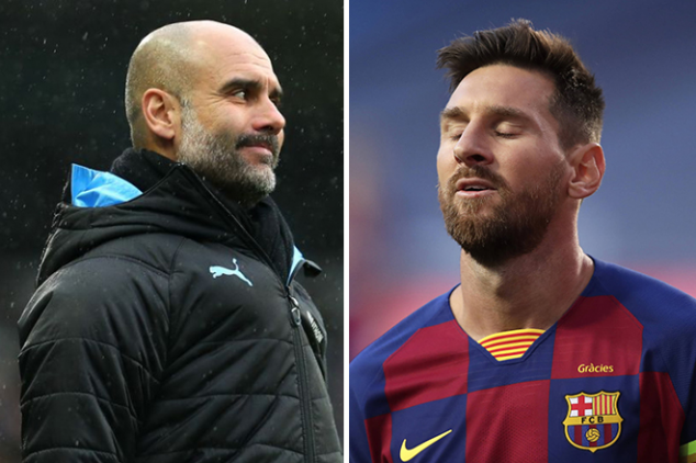 Messi held talks with City's Guardiola