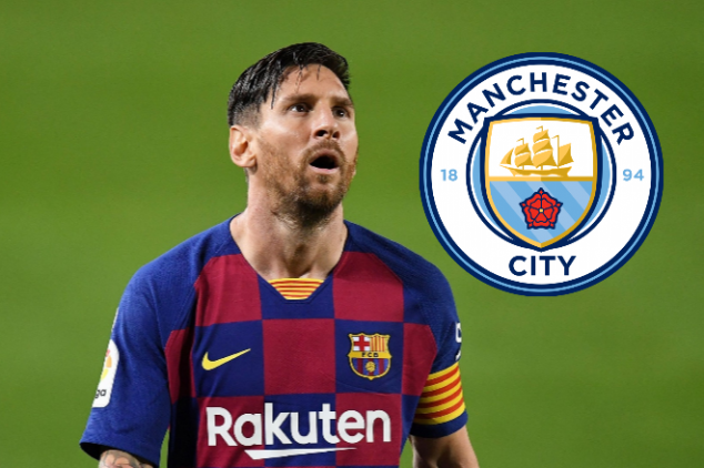 Report: Messi agrees personal terms with Man City