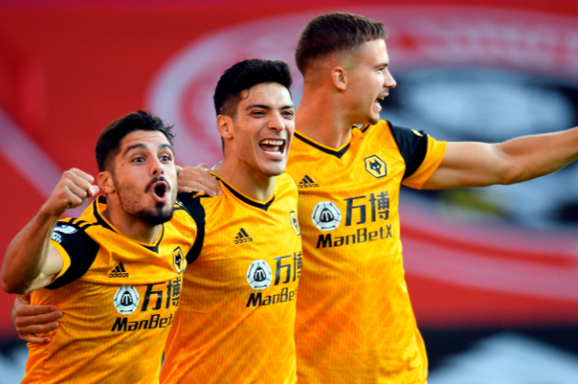 Watch: Wolves land PL milestone with opening goals
