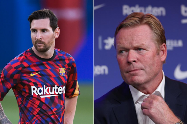 Koeman opens up about Messi relationship