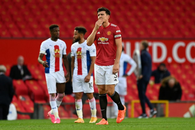 Fans react as Crystal Palace beat Manchester Utd