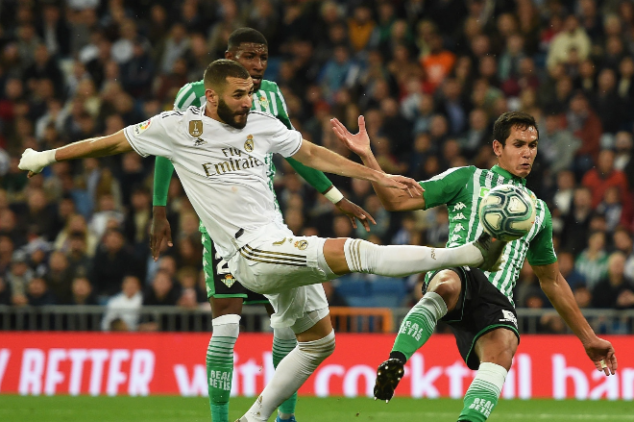 Real Betis vs Real Madrid broadcast information