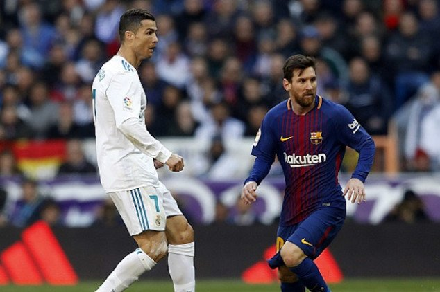 Stats surrounding Messi-CR7 rivalry in UCL games