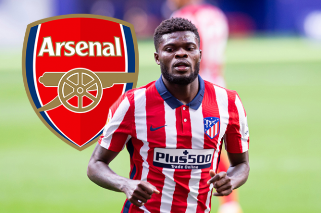 Partey pens farewell to angry Atletico