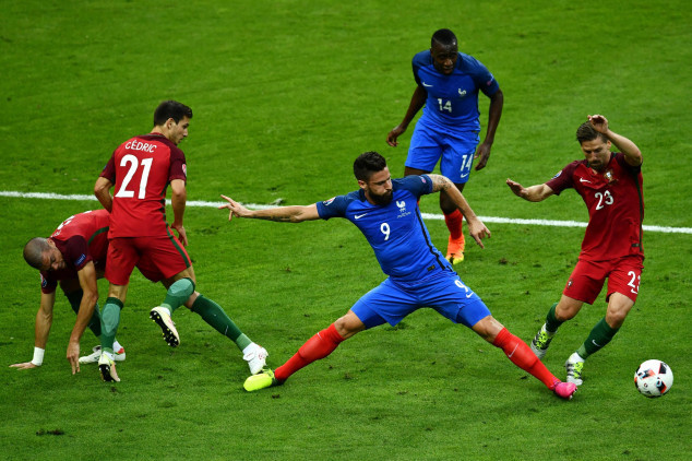 France vs Portugal broadcast information