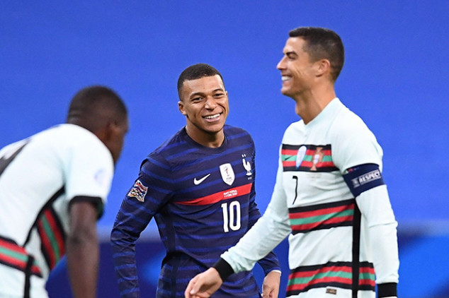 Lovely CR7-Mbappe moment wins the Internet