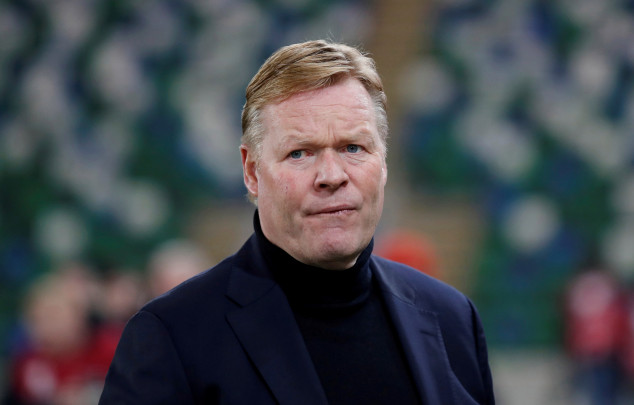 Koeman hits out at Griezmann amid claims of a rift