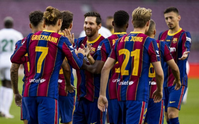 Barcelona vs Ferencvaros broadcast information