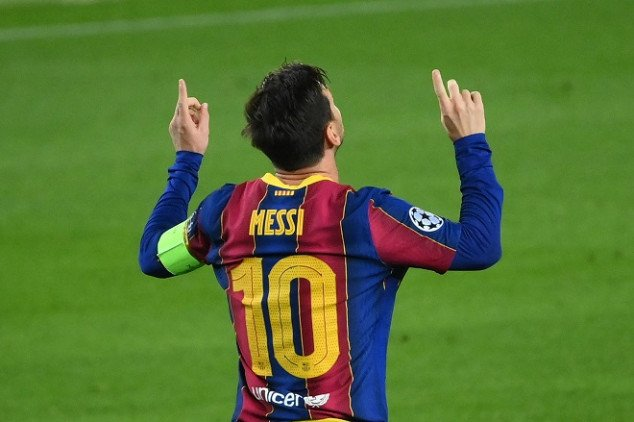 Messi sets 2 more records with goal vs Ferencvaros