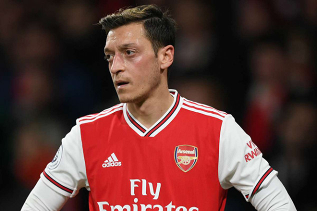 Ozil issues emotional statement after EPL axe