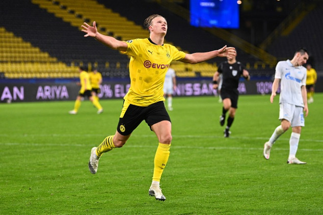 Haaland makes history with one more goal for BVB