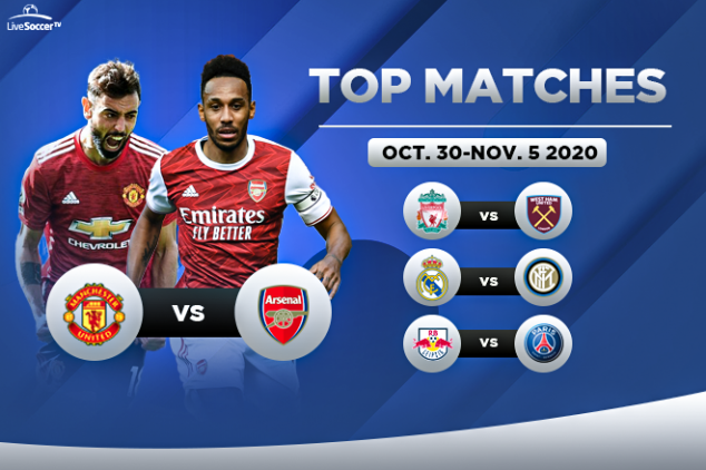 Top games to watch on Oct. 30-Nov. 05, 2020