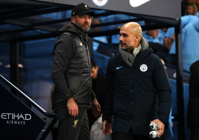 Pep reveals the details of his FT convo with Klopp