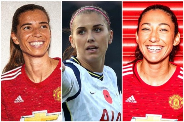 Keeping up with USWNT stars in the FA WSL Nov. 9