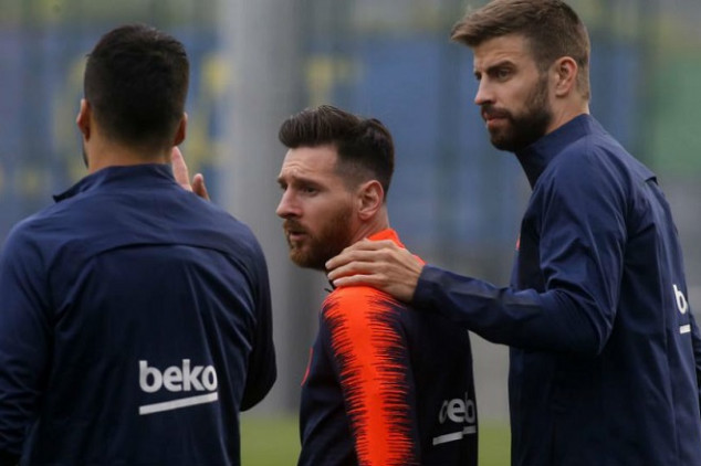 Barca players agree terms for wage cuts