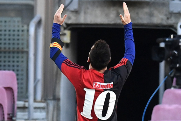 Messi dedicates goal to Maradona in Osasuna win
