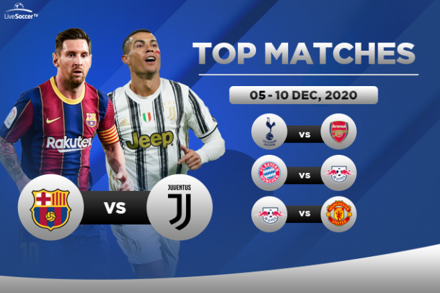 Top games to watch on Dec. 5-10, 2020