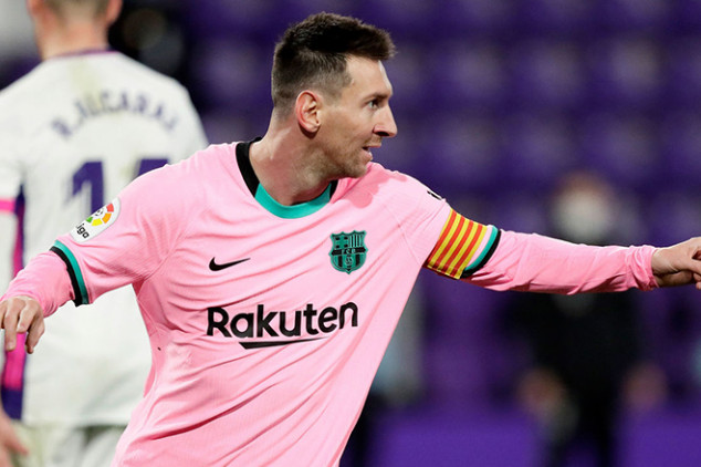 Messi takes to IG after surpassing Pele