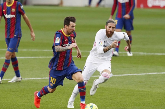 Ramos' contract talks with Real Madrid on hold