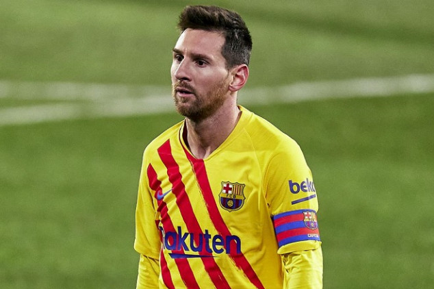 Messi out of Spanish Super Cup tie