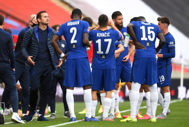Chelsea fans blame two stars for Lampard's sack