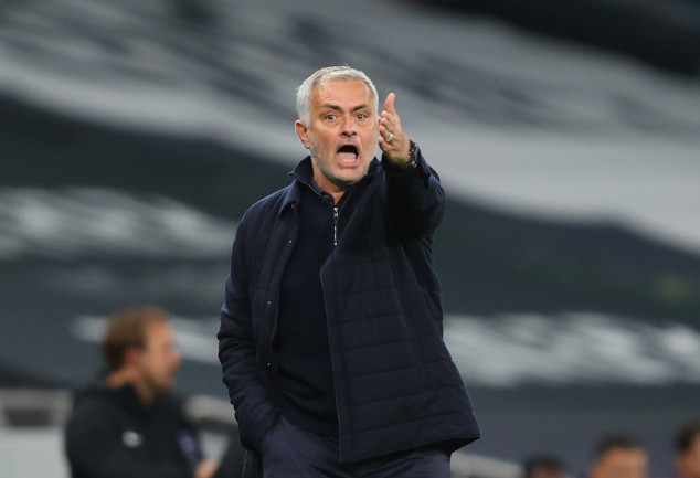 Mourinho condemned to unwanted feat as Spurs lose