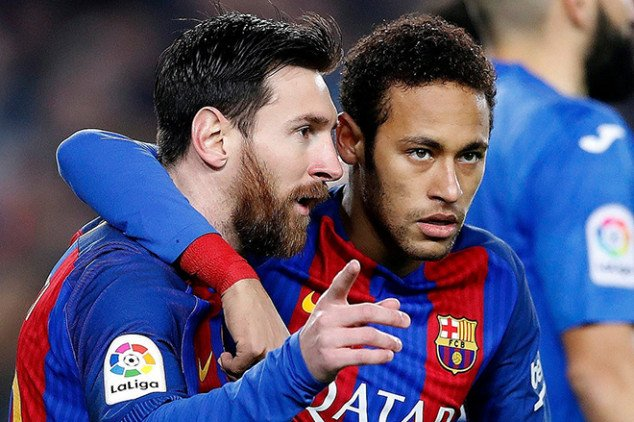 Neymar calls Messi to convince him to join PSG