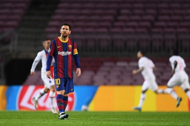 Barcelona set woeful UCL record with 4-1 loss