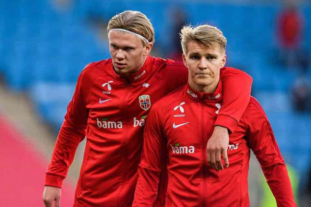 Real Madrid to use Odegaard to land Haaland