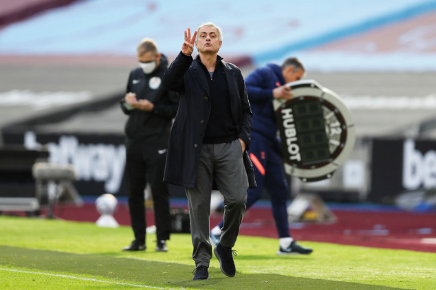 Mourinho hits new low as Spurs suffer loss