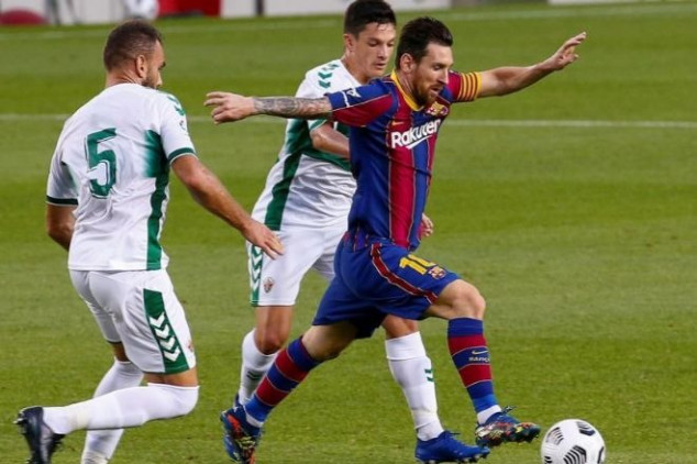 Barcelona vs Elche broadcast information