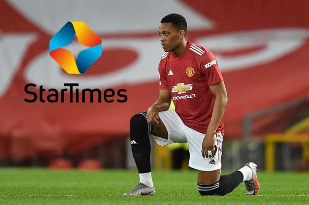 Man United announce deal with StarTimes