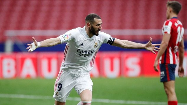 Benzema scores late equalizer in Madrid derby