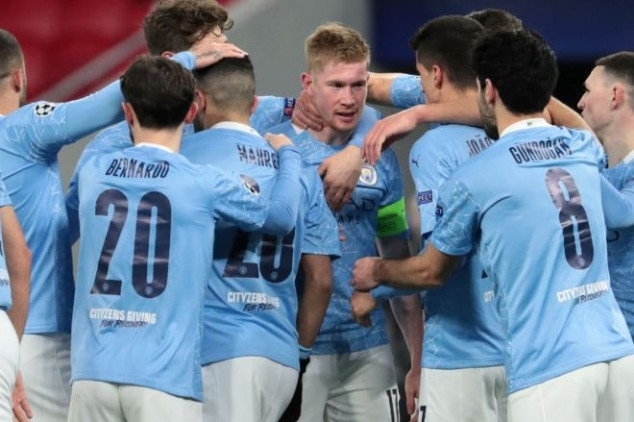 Man City land UCL feats with Monchengladbach win
