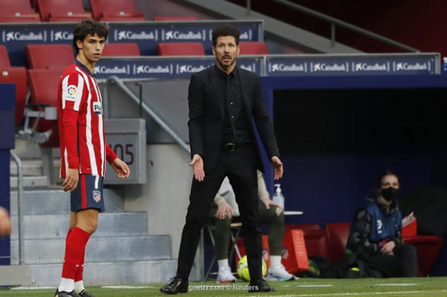 Felix opens up about alleged rift with Simeone