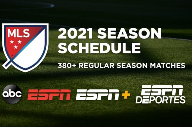 ESPN, ABC to carry 300+ MLS matches in 2021