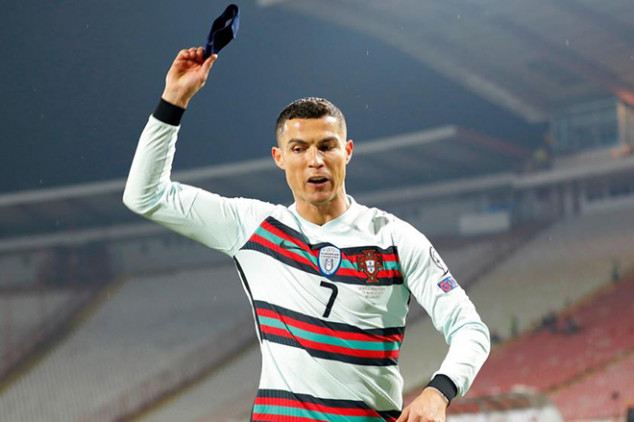 CR7 is risk of being punished by FIFA