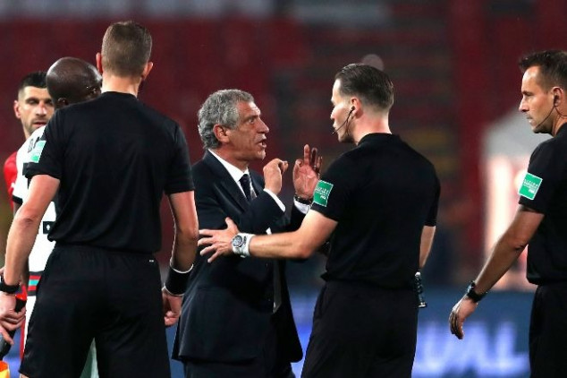 Serbia-Portugal match referee apologizes for error