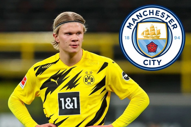 Details of Man City's offer to sign Haaland leaked