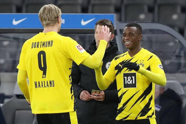 Dortmund youngster ruled out for rest of season