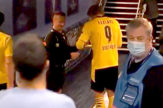 Revealed: Why ref asked for Haaland's autograph