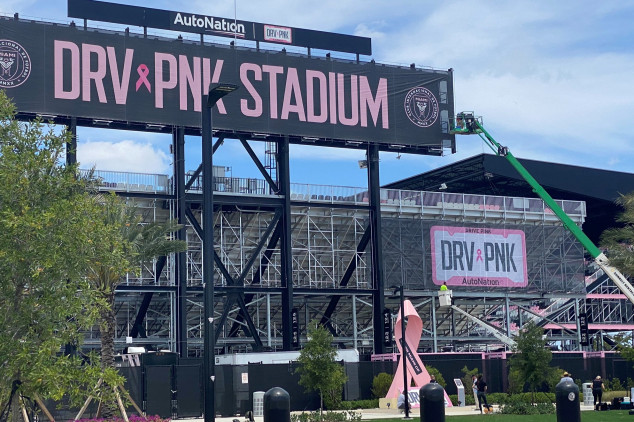 Inter Miami and AutoNation sign naming rights deal