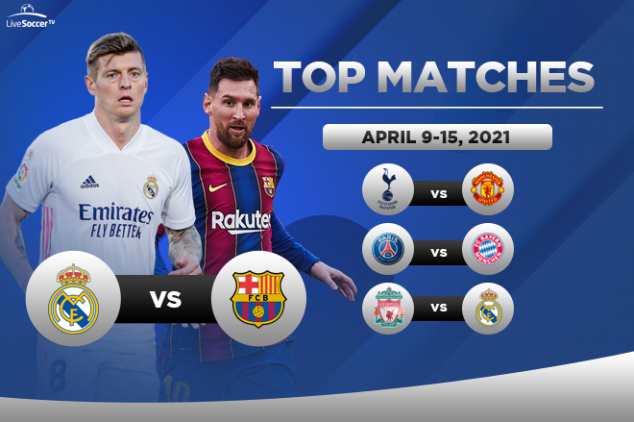 Top games to watch on April 9-15, 2021