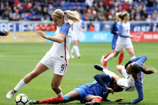 How to watch friendly between the USWNT and France