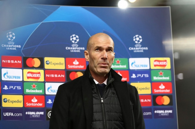 Zidane makes UCL history after draw vs Liverpool