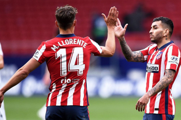 Atletico resume position on top of La Liga table